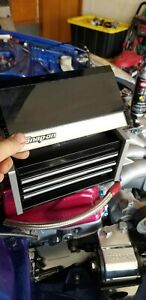 Snap On Black Mini Micro Top Chest Tool Box Brand New