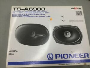 Vintage Pioneer Ts A6903 6x9 Flush Mount Car Stereo Speakers New