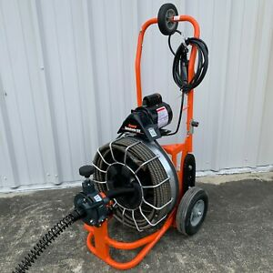 General Wire Speedrooter 92r Drain Sewer Cleaning Machine Snake Power Cleaner