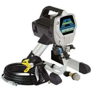 Graco 24 Gpm Sp200 Airlessco Stand Electric Airless Paint Sprayer 24f557