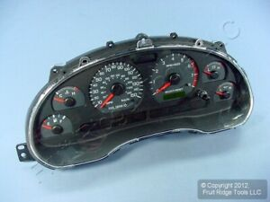 Oem Ford Mustang Instrument Gauge Cluster 99 00 01 02 03 04 Take Out