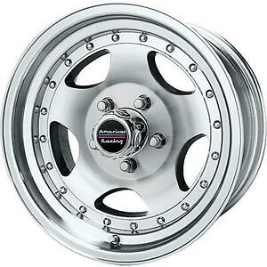 American Racing Ar23 15x8 Wheel With 5 On 4 5 Bolt Pattern Machined With