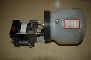 rt Haskel Eng Supply Co Pump Model M 110