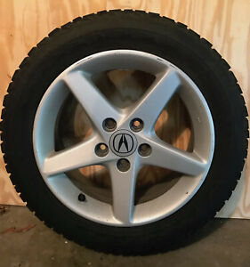 Acura Rsx Type s 16 Factory Wheels With Snow Tires