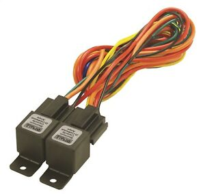 Derale 16765 Dual Electric Fan Relay Wire Harness Kit 40 60 Amp Heavy Duty