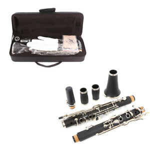 New Advance Clarinet G key Clarinet Ebonite wood Nickel Plated Keys
