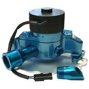 Proform 68220b Water Pump Electrical Ford S B Aluminum Electric Water Pu