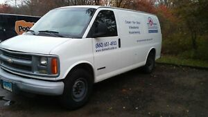 Carpet Cleaning Van Truck Mount Unit With Equipment Tools