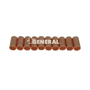 Copper Coupling 1 4 Id For Air Conditioning Refrigeration Lines 10 Pcs