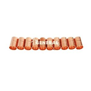 Copper Coupling 5 8 Id For Air Conditioning Refrigeration Lines 10 Pcs