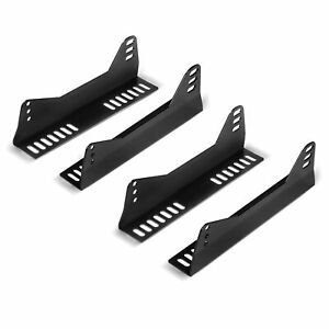 Two Sets For Two Seats Invictus Universal Side Mount L Brackets Race Bucket Seat