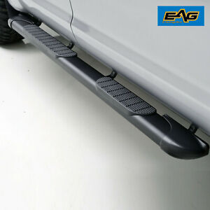 Eag Oval Running Boards Brackets Fits 05 15 Chevy Tahoe