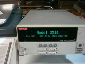 Keithley 2510 Tec Sourcemeter 50w S n 0833910 W Peltier Pm Shipping Nice