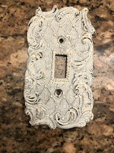 Metal Shabby Chic Single Switch Plate Anthropologie Each $9.00