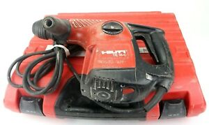 Hilti Te 16c Rotary Hammer Drill 120v Corded With Hard Case Tested