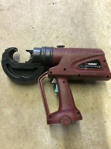 Burndy Pat750 xt 12 Ton Battery Hydraulic Crimping Tool