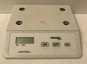 Stamps com Tabletop Business Scale Weight 10lb Capacity Sku 052242 8 x8 x2 h