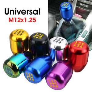 5 Speed Jdm Manual Aluminum Weighted Shift Knob Short Gear Shifter Knob Handle