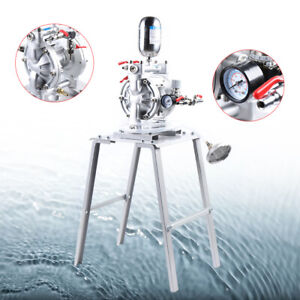 Air Operated Double Diaphragm Pump Chemical Industry Spray Paint Pump Set