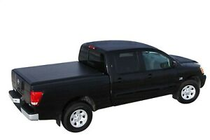 Access Original Roll Up Tonneau Cover For Titan Crew Cab 5ft 6in Bed Clamps