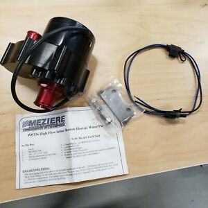 Meziere Electric Water Pump Wp336s High Flow Inline Remote Electric Water Pump