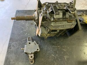 Gm Saginaw 4 Speed Transmission With Jeep Dana 18 Adapter