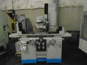 Summit Mile 8 X 16 Hydraulic Surface Grinder Automatic With Video
