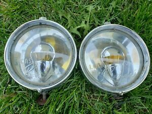 Vintage Pair Of Lucas Ranger Spot Fog Driving Light Made In England