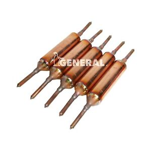 Copper Solder Filter Drier 25 Grams W silica 5 Pcs For Ac Refrigeration Linean
