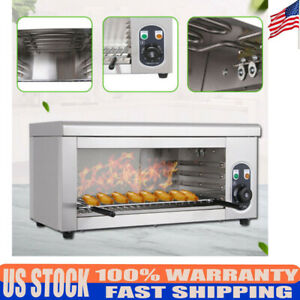 Cheese Melting Machine Electric Cheesemelter Salamander Broiler Equipment 2000w