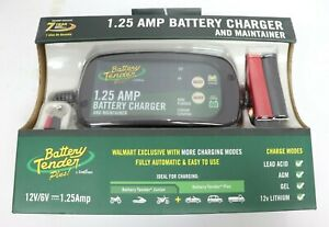 New Battery Tender Plus By Deltran 1 25 Amp Battery Charger And Maintainer