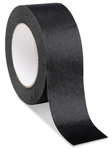 1 Roll No Residue Black Masking Tape 2 X 60 Yds 48mm X 180