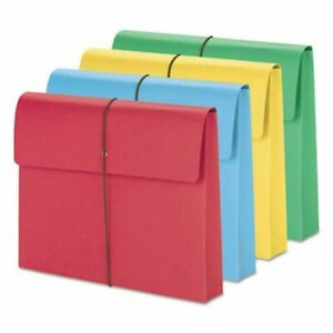 Smead 2 Expanding File Folder W Cover Letter Assorted 10 Folders smd77251