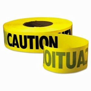 Empire Caution Barricade Tape 3 Mil Thickness 3 In X 1000 Ft eml771001