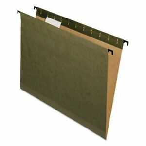 Pendaflex Surehook Hanging File Folders Letter Green 20 box pfx615215