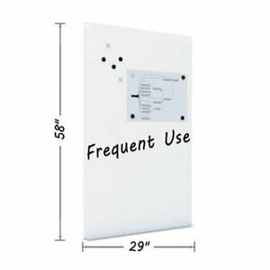 Mastervision Magnetic Dry Erase Tile Board 38 1 2 X 58 White bvcdet8125397