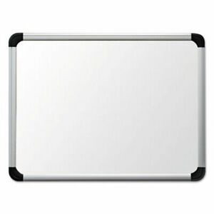 Universal One Porcelain Magnetic Dry Erase Board 24 X36 White unv43841