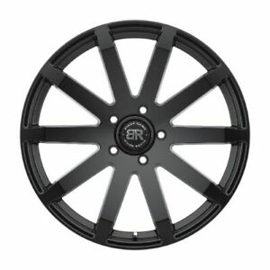 22x9 5 Matte Black Wheels Black Rhino Traverse 5x150 30 set Of 4