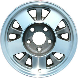 Chrome Plated 10 Slot 15x7 Factory Wheel 1996 2002 Chevrolet Express