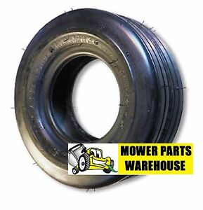 NEW 11x4.00x5 11x4.00 5 11 4.00 5 STRAIGHT RIBBED 4 PLY TIRES REPLACE CARLISLE $21.95