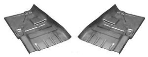 Front Floor Pan Half For 68 79 Chevy Nova Buick Apollo Olds Omega pair