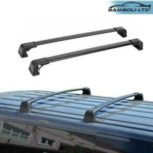 Fits Mazda 3 Sport 2009 2013 Black V3 Roof Rack Cross Bars Cross Rail Lockable