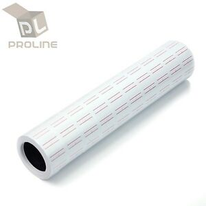 10 Rolls 5000 Tags Labels For Motex Mx 5500 L5500 Mx989 Price Gun