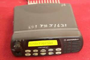 Motorola Cdm1550ls Mobile Radio 403 470mhz 40watt 16channel P n Aam25rkf9dp5an