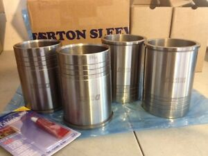 Darton Dry Block Sleeves With Flange For Honda H22 H23 Prelude Accord