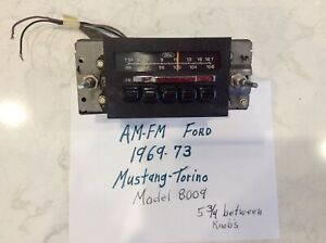 Ford Mustang Torino 1969 1970 1971 1972 Am fm Radio