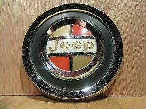 Oem 1962 71 Kaiser Jeep Parts wagoneer Gladiator Jeepster Grill Emblem