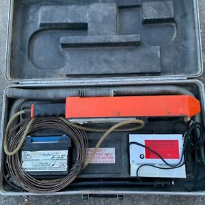 Spy 725 Holiday Detector Kit Portable High Voltage Pipeline Inspection Case