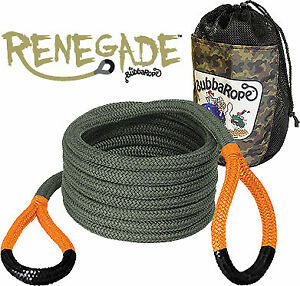 Bubba Rope Renegade 30 19 000lb Break Strength Recovery Tow Rope