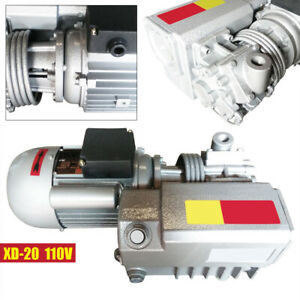Single stage Rotary Vane Vacuum Pump Suction Pump For Chemical Industry Xd 20